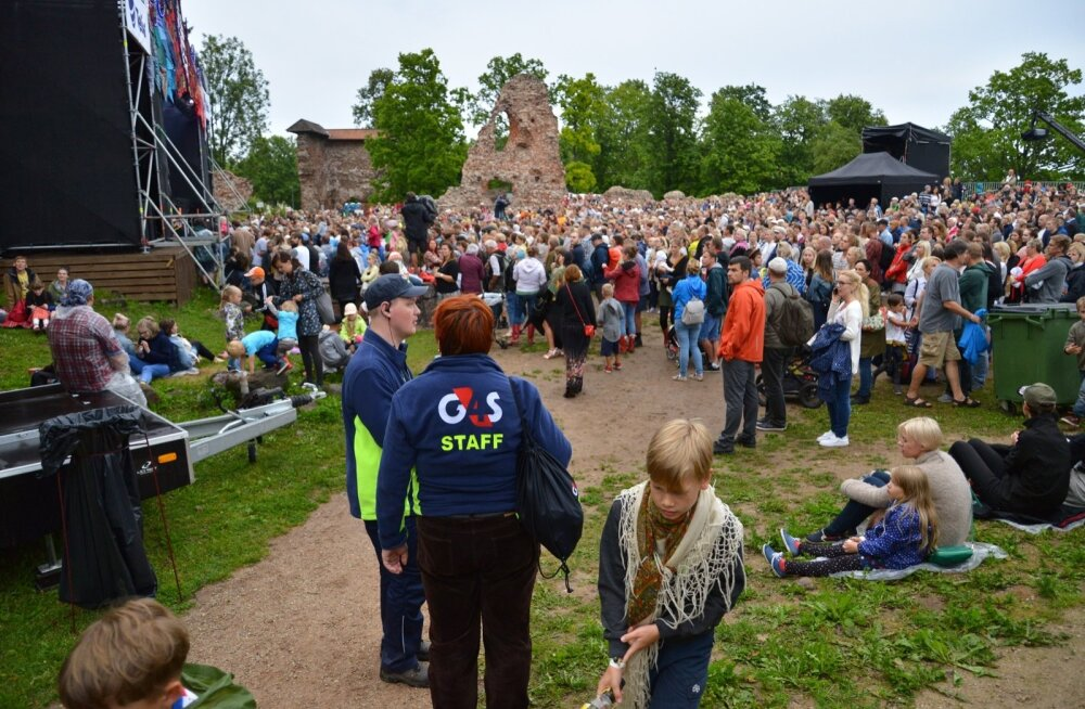 FOLGILISE MEELESPEA: Viljandi pärimusmuusika festivali turvameeskond korda üle olulisemad käitumisjuhised