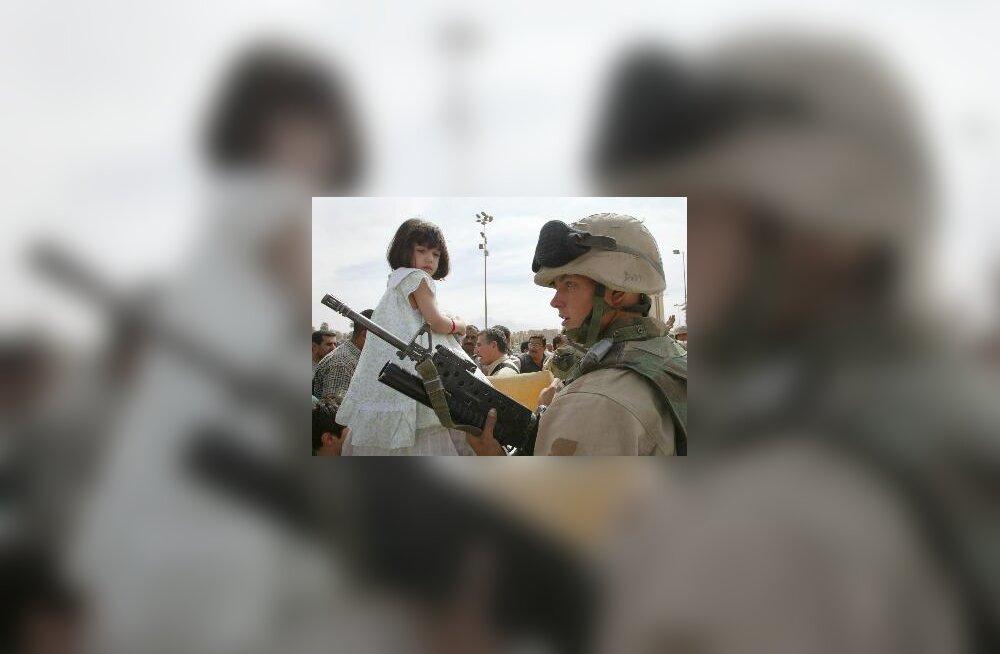 USA sõdur Iraagis