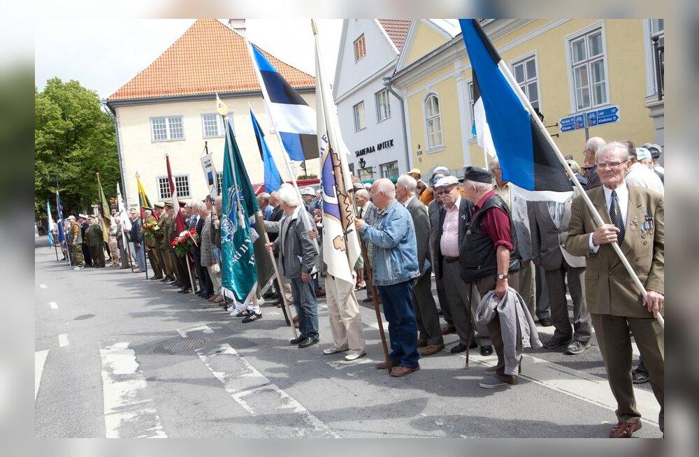 МИД РФ возмущен заявлением Рейнсалу о слете Эстонского союза борцов за свободу