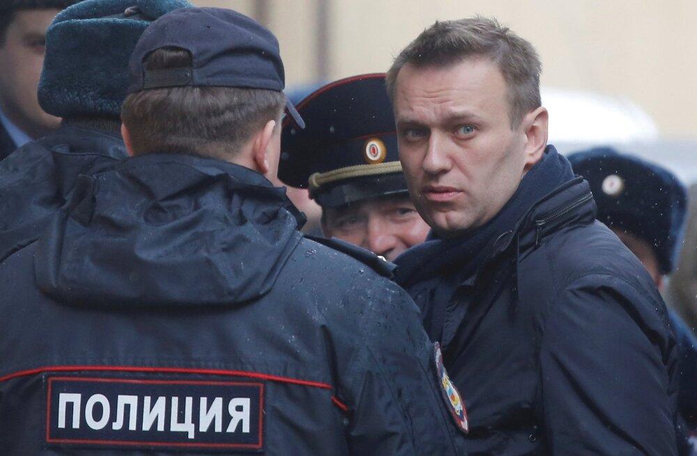 Euroopa Inimõiguste Kohus: Navalnõi vahistamised Vene võimude poolt on olnud poliitilised