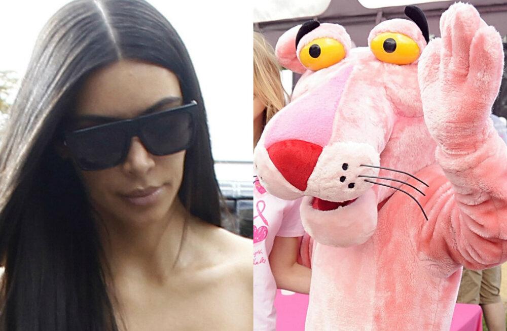 PÕNEV: Kas Kim Kardashiani röövisid paljaks idaeurooplastest kurikaelad, keda tuntakse Roosade Pantrite nime all?