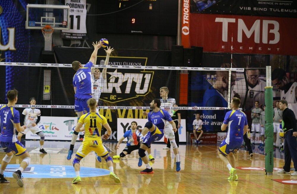 Võrkpall Rakvere vs Tartu