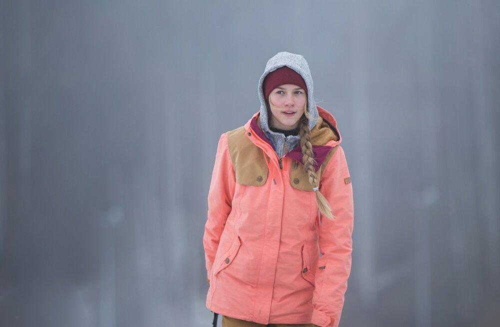 Kelly Sildaru Tartu Lumepargis
