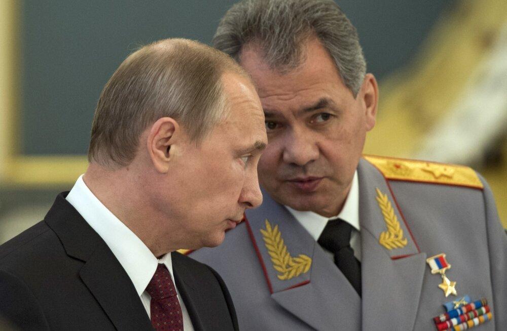 Vladimir Putin ja Sergei Šoigu