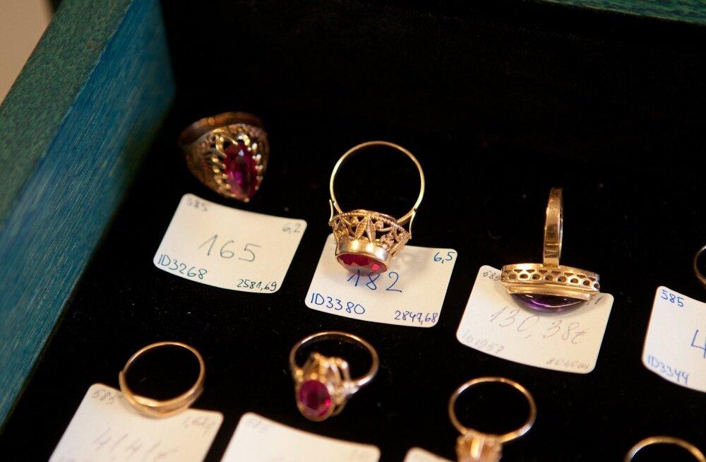 Sõrmused. Foto on illustratiivne