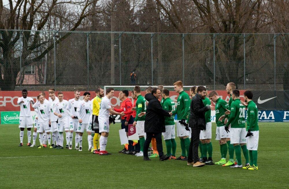 FC Flora rohe- ja FC Levadia valgesärgid on koduliiga kaks parimat meeskonda, kuid euroväljakuil tõi loos just neile avaringis kõige keerulisema vastase.