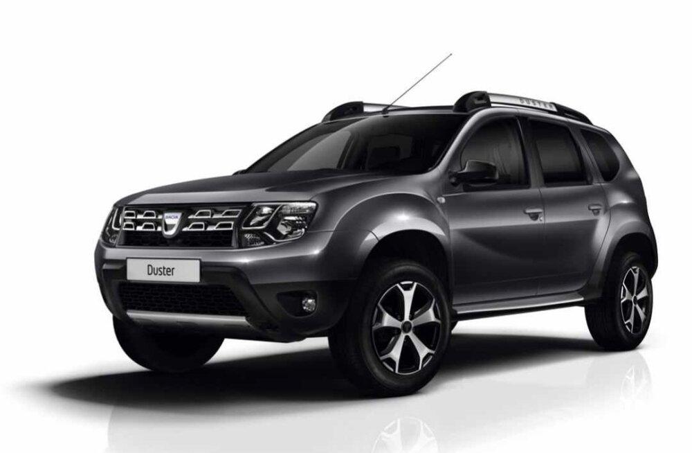 PROOVISÕIT: Dacia Duster valmistub uueks tulemiseks
