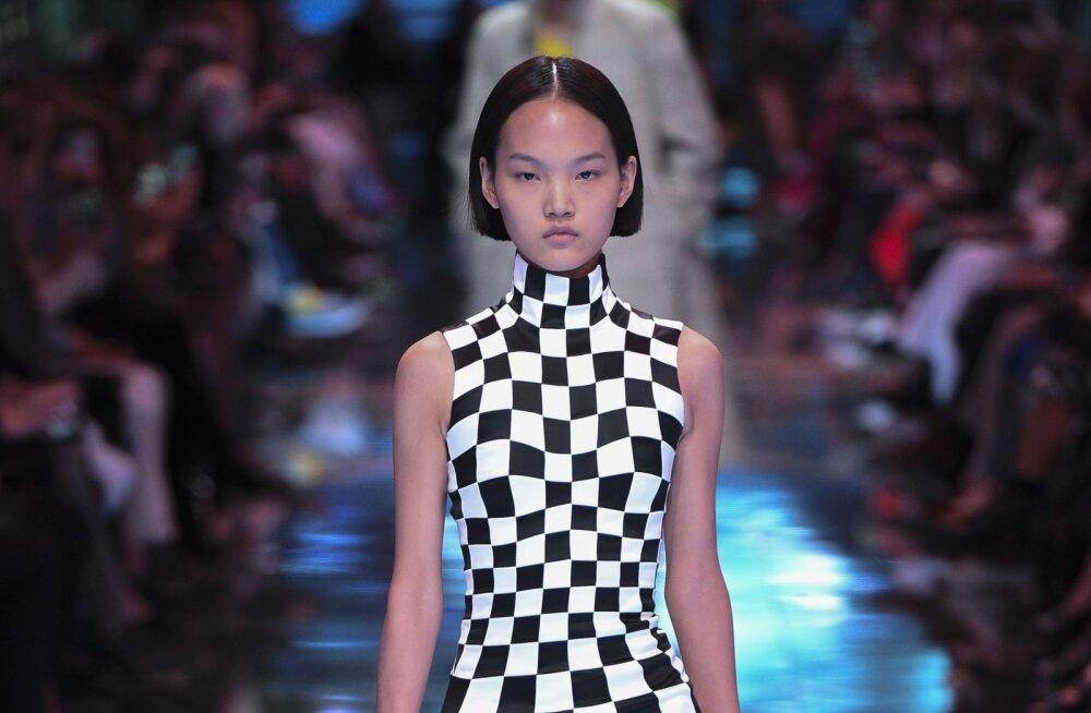 FOTOD | Põnevad moesoovitused: geomeetriline kunst on leidnud tee rõivastele