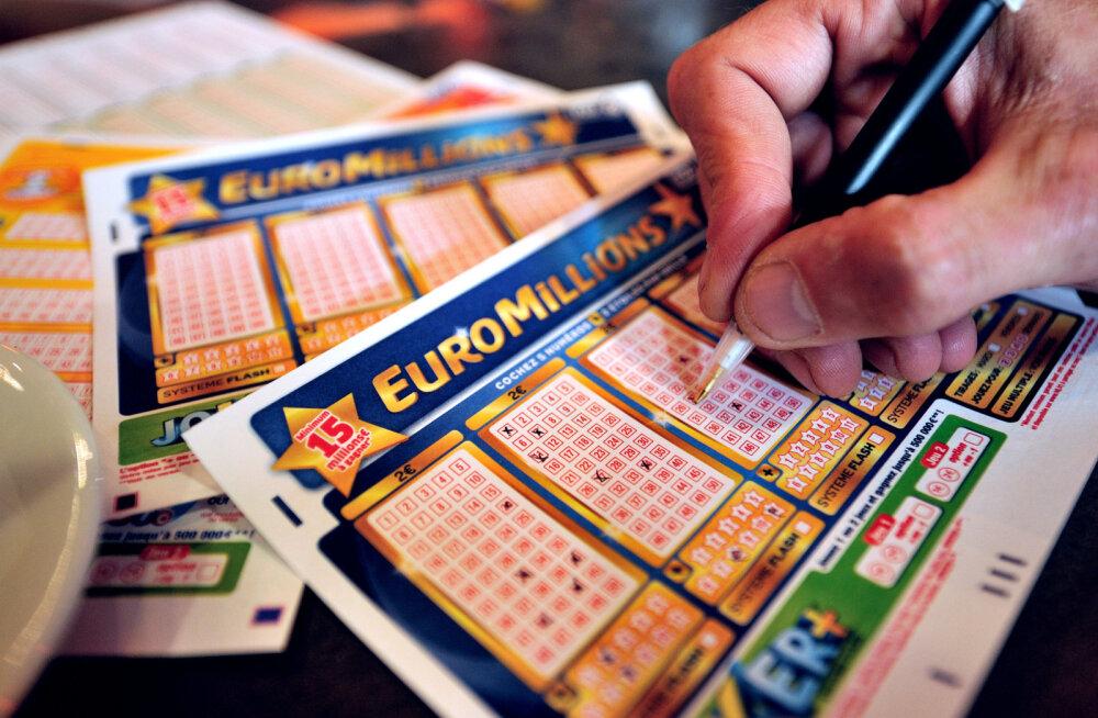 Õnnelik britt võitis lotoga pea 90 miljonit eurot