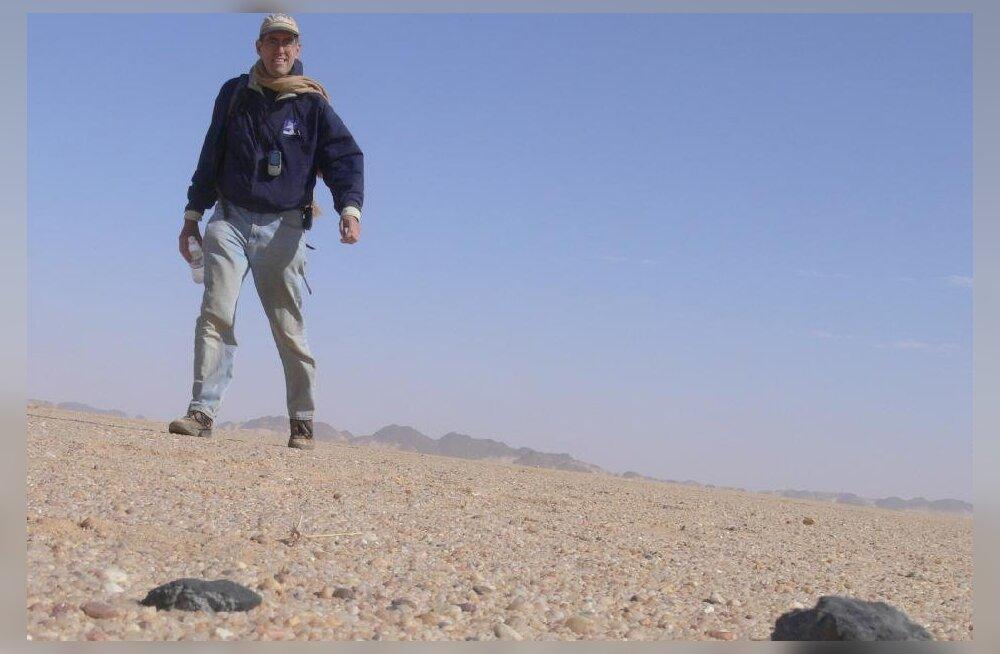 Sudaani kohal plahvatanud teemante täis meteoriit tekkis Päikesüsteemist kadunud planeedist