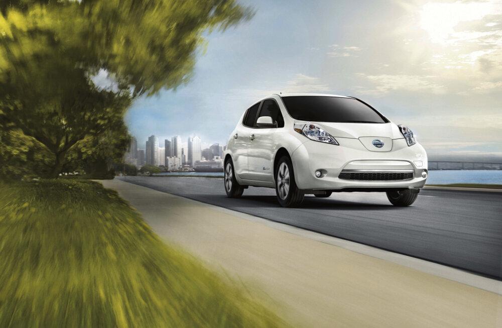 Uus Nissan Leaf hakkab pedaalidega koonerdama: e-Pedal muudab paradigmat