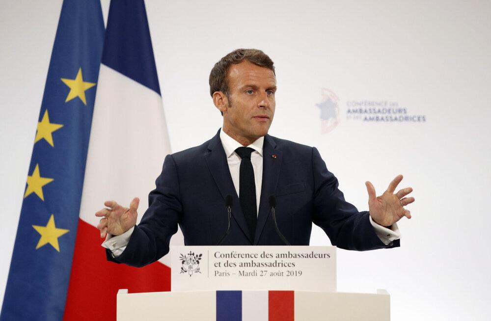 Macron: Euroopa suhted Venemaaga tuleb ümber mõelda