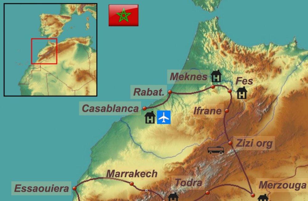 Võrratu Maroko – tasub minna juba kevadel