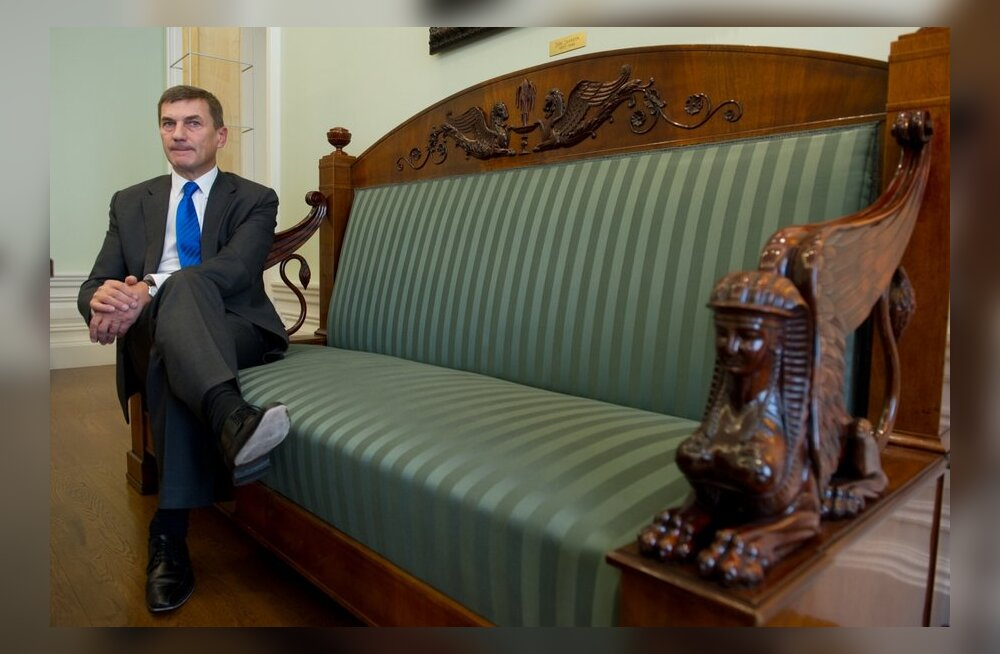 Peaminister Andrus Ansip.