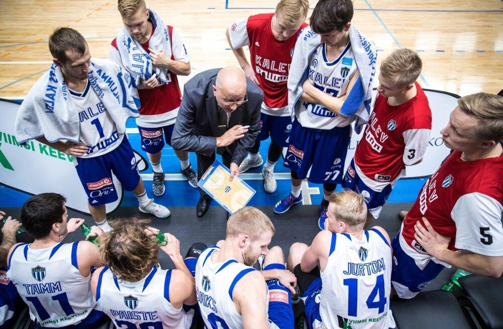 Tallinna Kalev/TLÜ meeskonna jaoks on raske aeg.