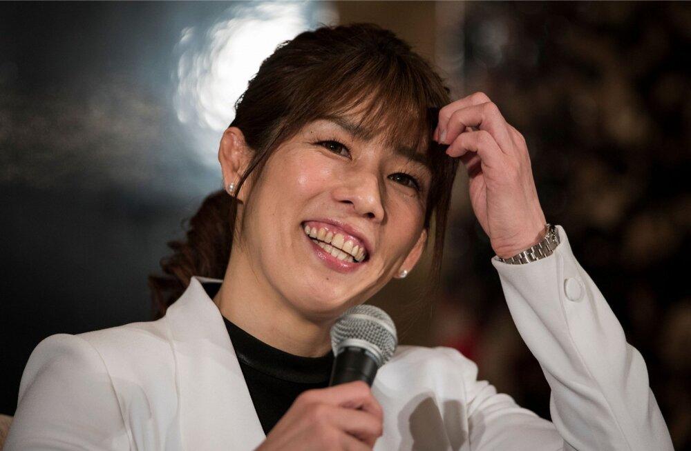 Kolmekordne olümpiakuld Saori Yoshida