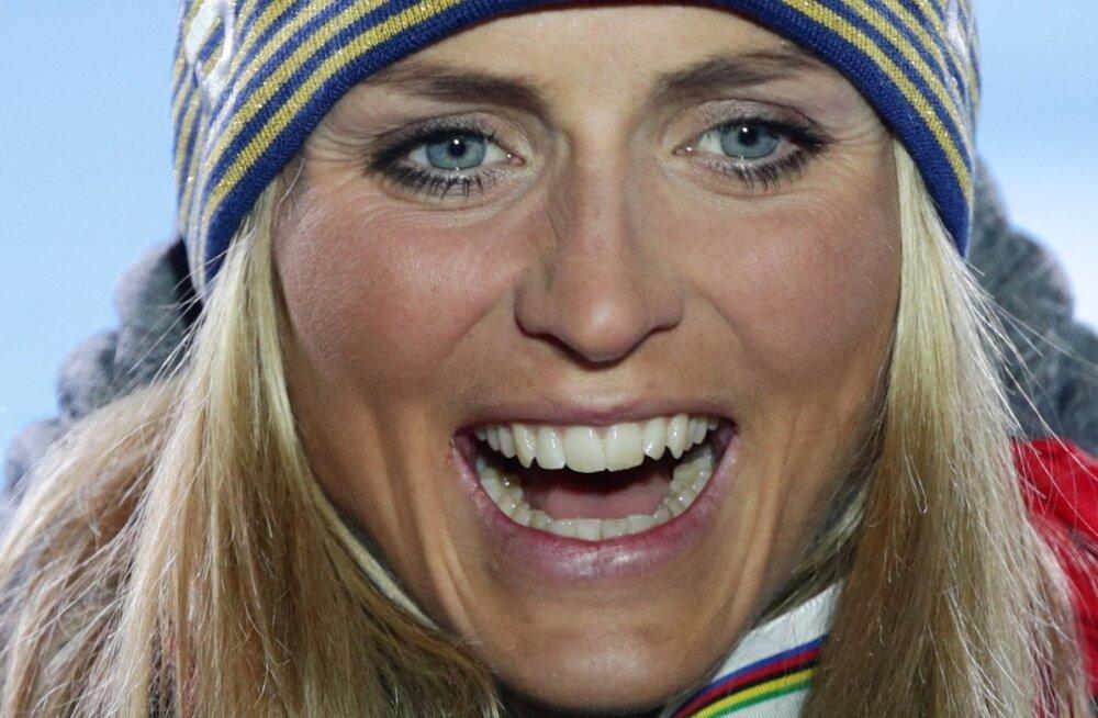 Therese Johaug võitis Seefeldis järjekordse MM-kulla.