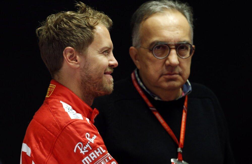 Sebastian Vettel ja Sergio Marchionne