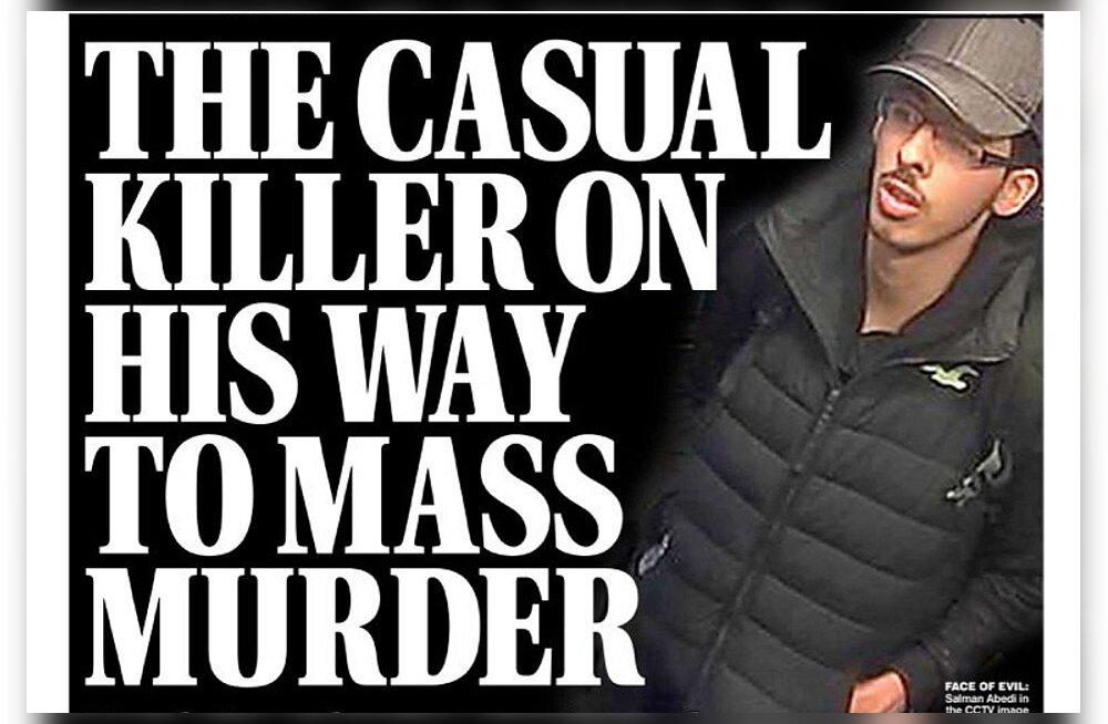 FOTOD: Manchesteri terrorist vahetult enne julma rünnakut