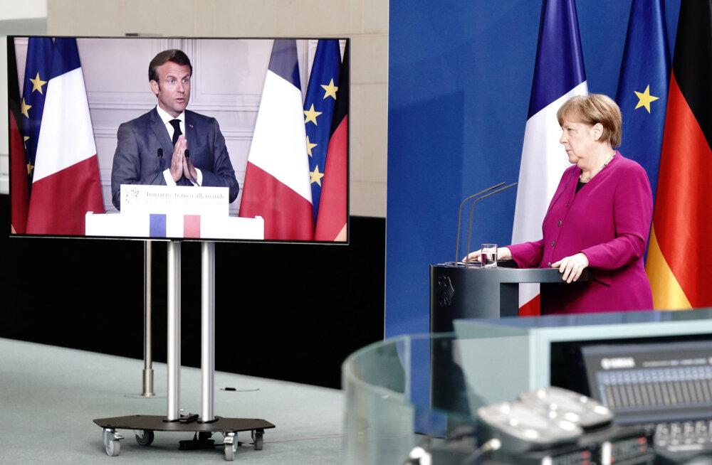 Prantsusmaa ja Saksamaa pakuvad 500 miljardi euro suurust EL-i taastumisfondi, kust makstaks riikidele abiraha