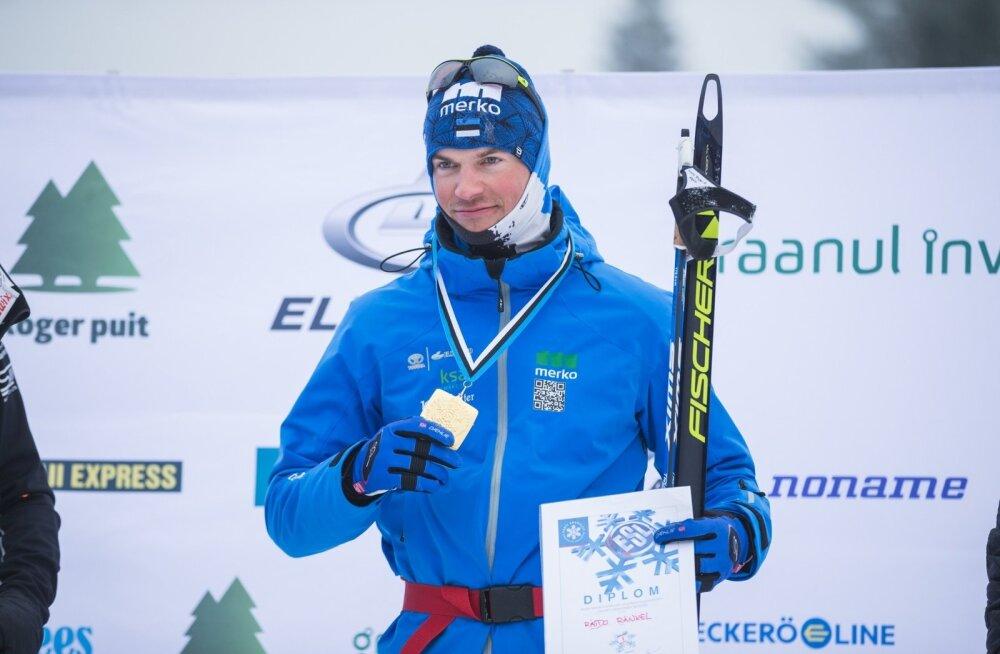 Raido Ränkel krooniti Otepääl kahekordseks Eesti suusatšempioniks.