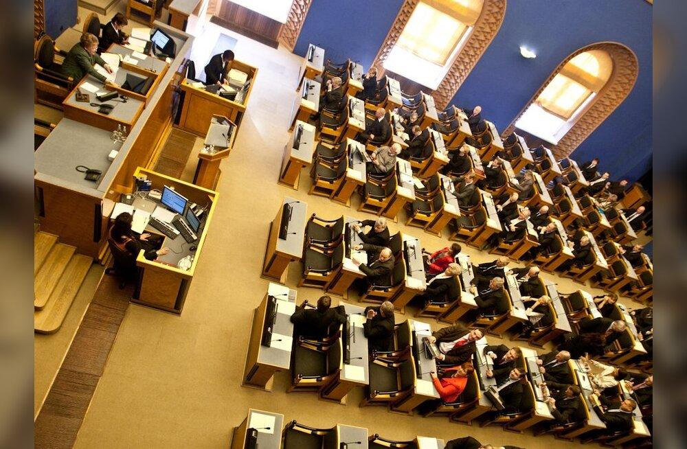 Riigikogus moodustati kaitseliidu toetusrühm