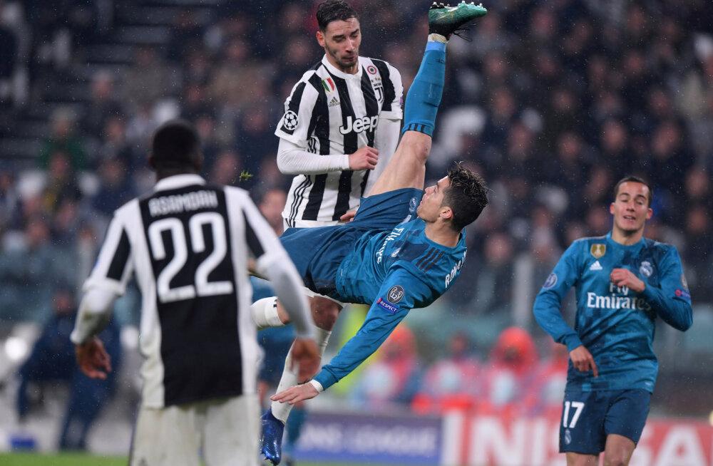 VIDEO | Cristiano Ronaldo käärlöök Juventuse vastu valiti UEFA hooaja ilusaimaks väravaks
