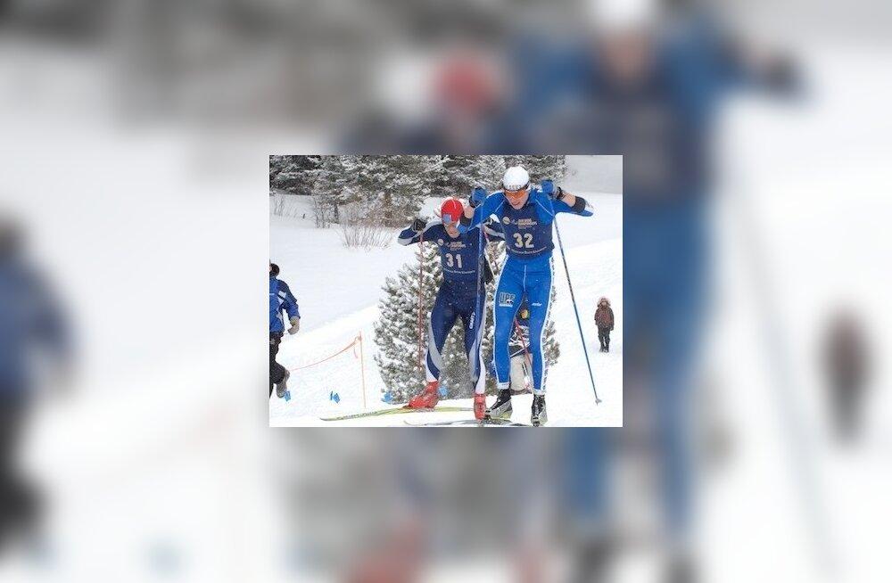 Eesti suusatajad võimutsesid Läti meistrivõistlustel