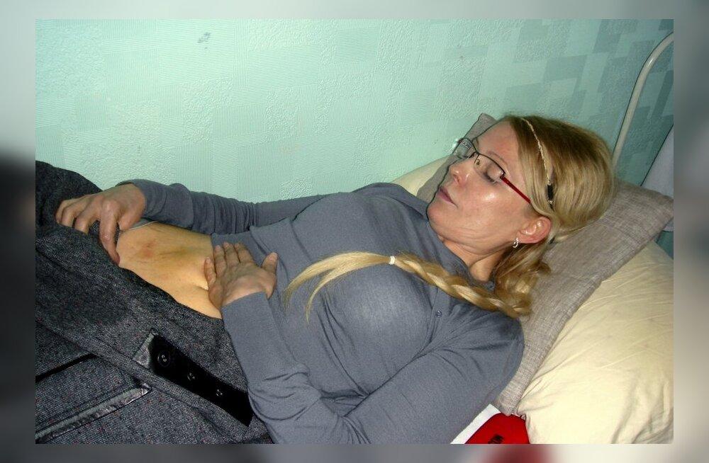 Тимошенко отказалась покидать колонию и переезжать в ЦКБ