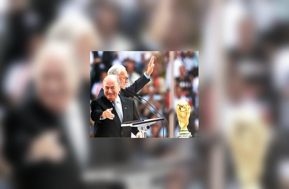 FIFA president Sepp Blatter ja MM-i korralduskomitee esimees Franz Beckenbauer finaalturniiri 2006 avamisel
