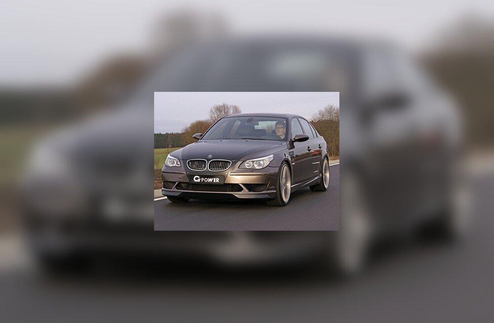 BMW jõudis ülikiirusele järele:  M5 Hurricane