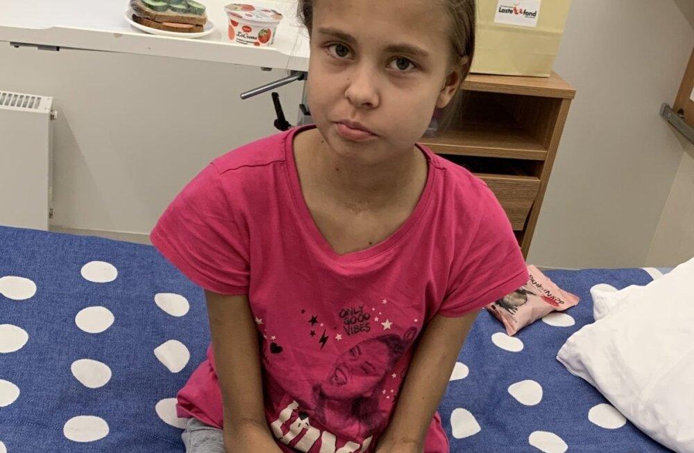 TÜ kliinikumi lastefondi poolt toetatav Katerina vajab abi