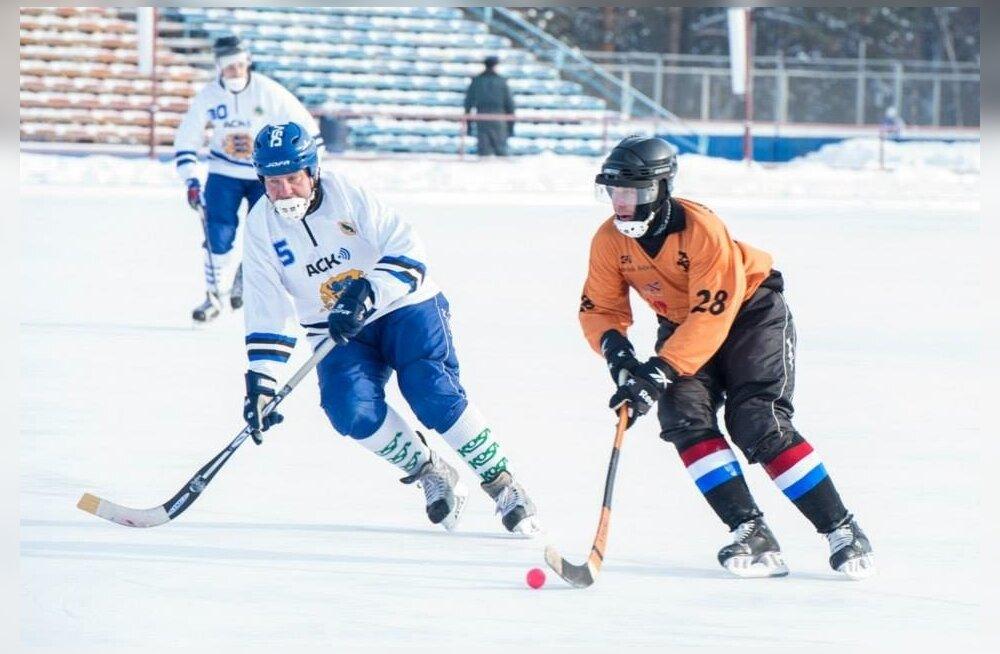 Jääpall Eesti vs Holland