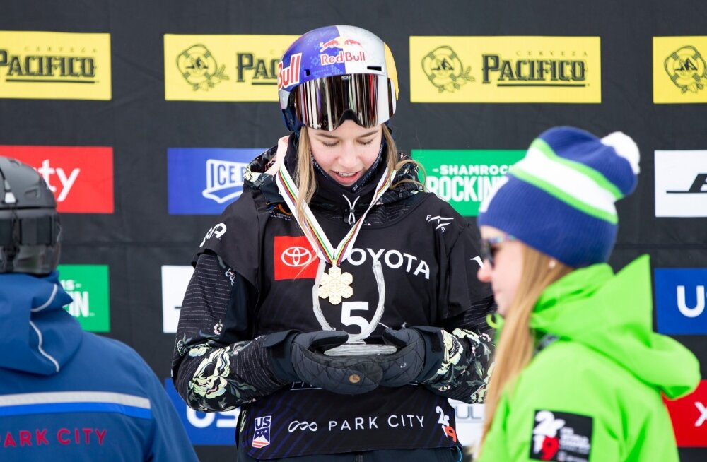 Kelly Sildaru maailmameister 2019