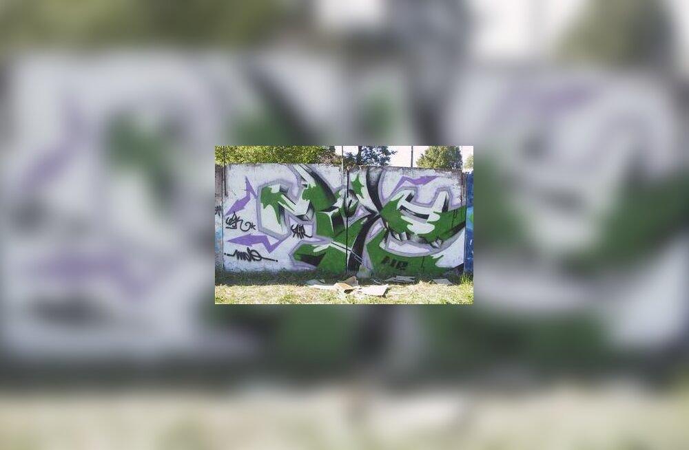 Grafiti võistlus Tondil.
