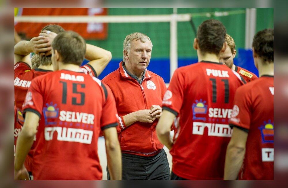 Selver - RTU (Läti) võrkpall Kalevi spordihallis