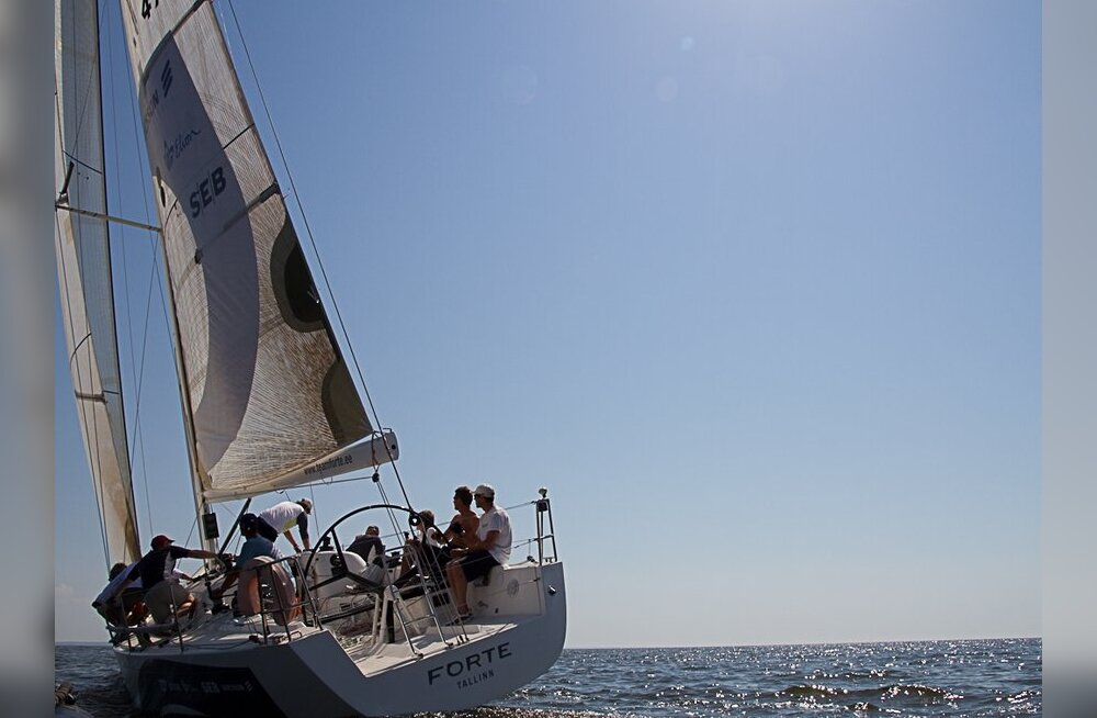 Baltic Offshore Week regatti juhib jaht Forte