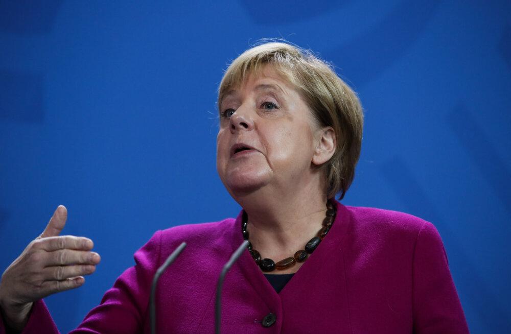 Merkel: Euroopa Liit peab võtma NATO riikide julgeoleku tagamise enda kanda