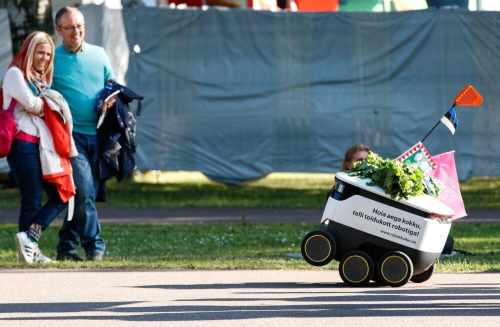 Pakirobot. Foto on illustratiivne.