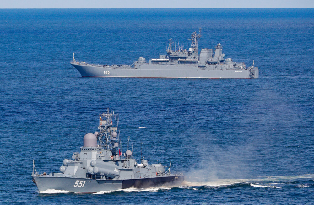 Минобороны Латвии: Россия на военных учениях разыгрывает перекрытие Балтийского моря