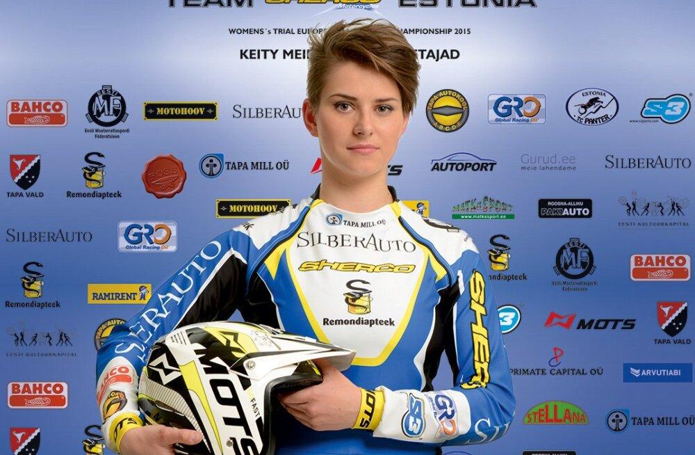 Keity Meier stardib esimese eestlasena triali MM-etapil