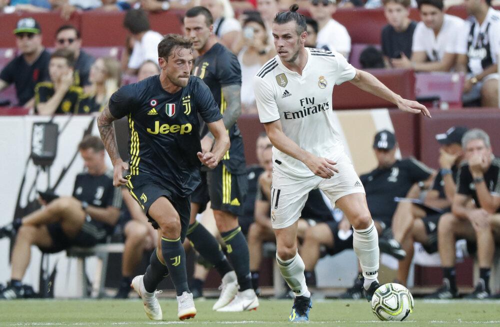 VIDEO   Gareth Bale'i iluvärav aitas Madridi Realil võita Ronaldota mänginud Juventust