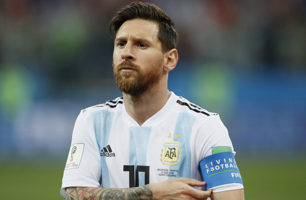 Argentina kapten Lionel Messi