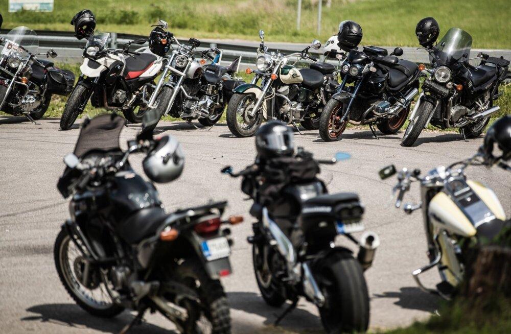 Motomeeste mälestussõit Sangastesse