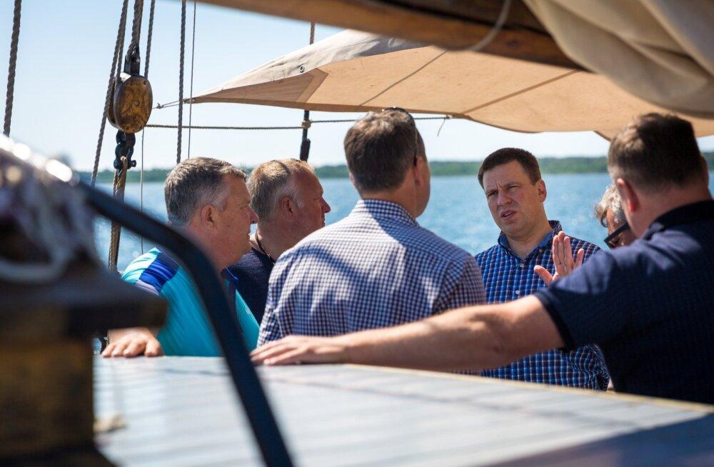 Peaminister Jüri Ratase ringreis Saare maakonnas