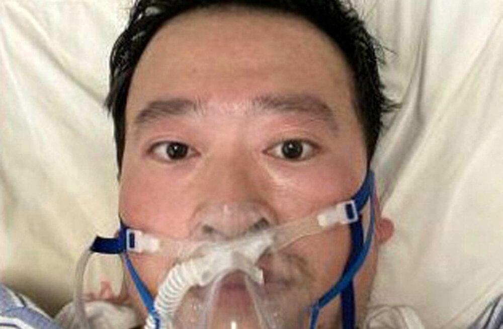 Koroonaviiruse eest esimesena hoiatanud Wuhani arsti surm tekitas Hiina sotsiaalmeedias viha valitsuse vastu