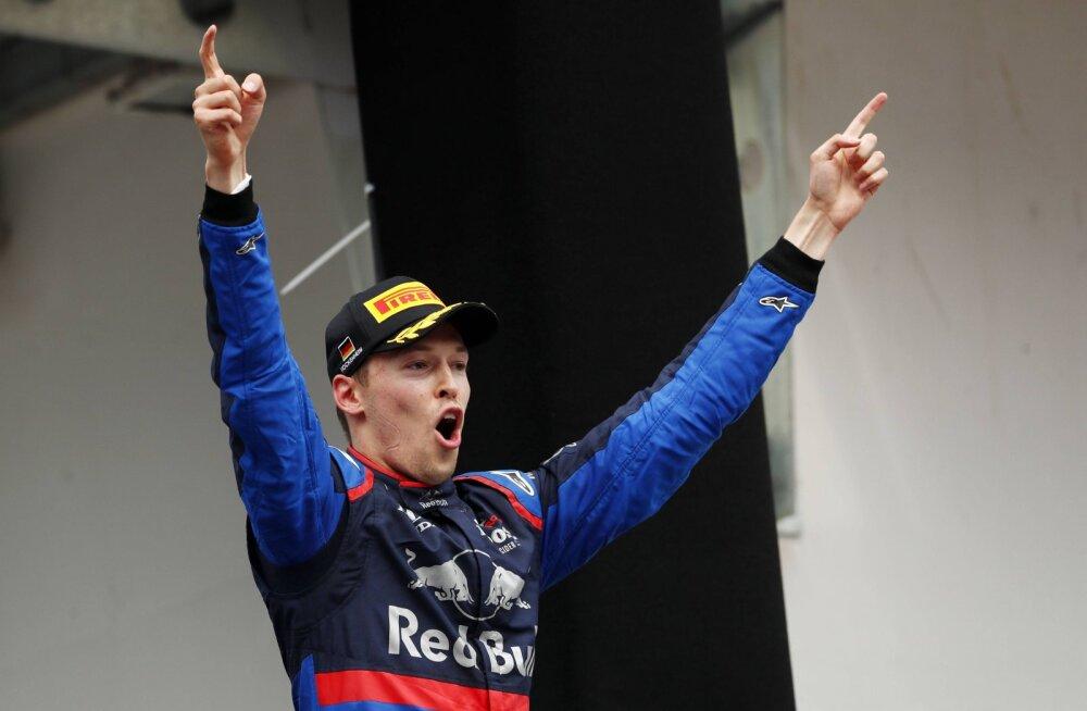 Saksamaa vormel-1 etapil kolmanda kohaga üllatanud venelane sai veel ühe suurepärase uudise