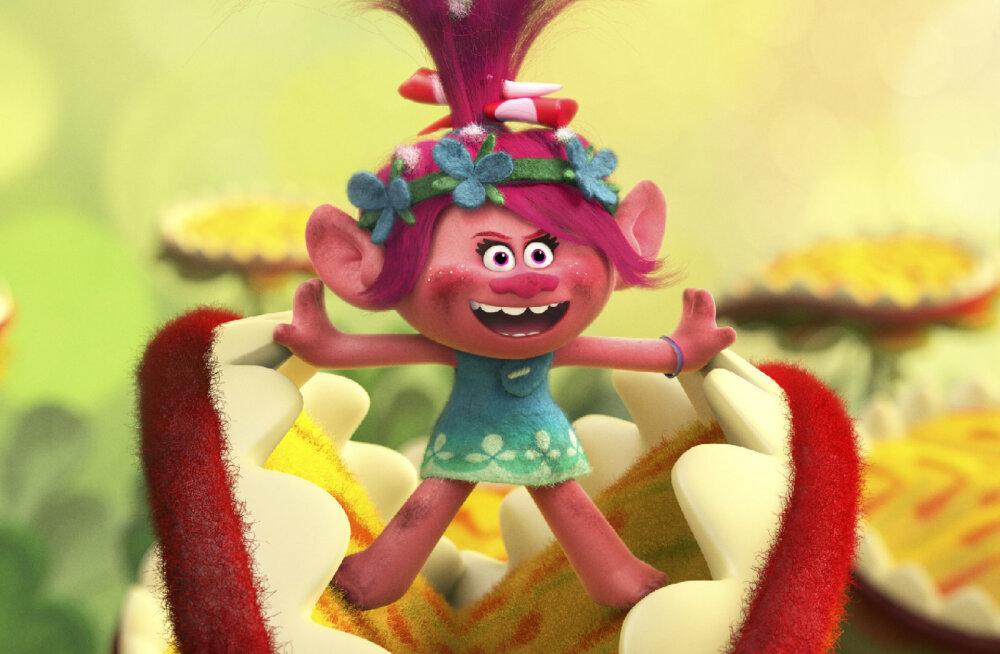 """Kas teadsid, et animafilmi """"Trollid"""" tegelased pärinevad ühe ulaka Taani koolipoisi sulest?"""