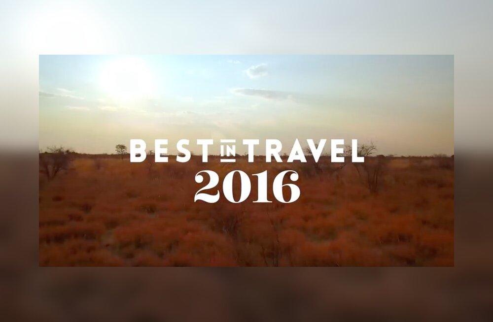 VIDEO: Lonely Planet avalikustas parimad reisisihid aastal 2016
