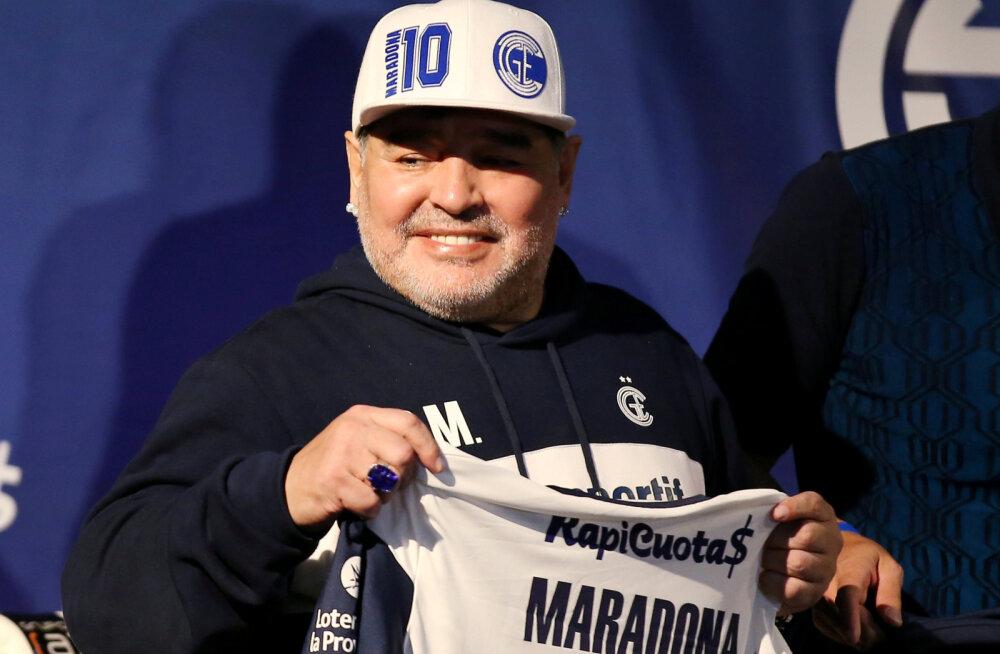 Ajuoperatsioonil käinud Diego Maradona pääseb peagi haiglast välja